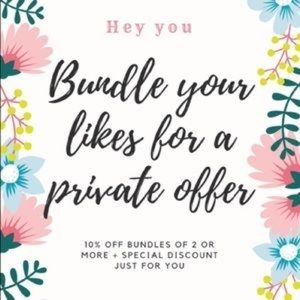 Other - 🌸🌸Bundles! Bundles! Bundles!🌸🌸